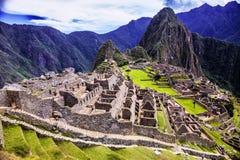 Machu Picchu - Peru Imagem de Stock Royalty Free