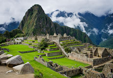 Machu Picchu in Peru Royalty-vrije Stock Fotografie