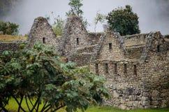 Machu Picchu in Peru Stockfoto