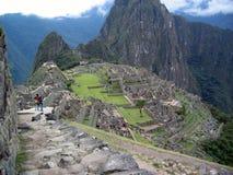 Machu Picchu, Peru Stockbilder