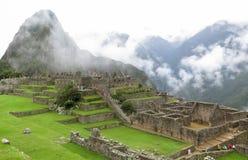Machu Picchu in Peru Stock Afbeelding