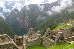 Machu Picchu in Peru Royalty-vrije Stock Afbeelding