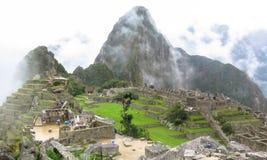 Machu Picchu in Peru Stock Afbeeldingen