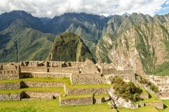 Machu Picchu, Peru. The ancient Inca city, located on Peru at the mountain, Wonder of the World. Machu Picchu, Peru. The ancient Inca city, located on Peru at stock photos