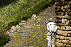 Machu Picchu, Peru. Ancient Inca city of Machu Picchu in Peru Royalty Free Stock Photography