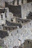 Machu Picchu Peru Details Fotografia Stock