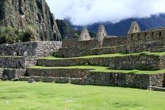 Machu Picchu Peru Details Fotografie Stock