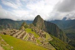 Machu Picchu (Peru Heritage Site). View of Ancient city of Machu Picchu (Peru Stock Images
