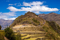 Machu Picchu, Peru. Inca city of Macu Picchu in Peru Stock Photography