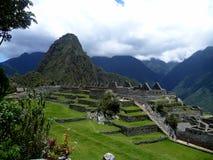 Machu Picchu in Peru stock photography