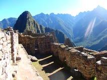 Machu Picchu Peru Inca ruins World wonder southamerica. Machu Picchu Peru Inca ruins World wonder travel southamerica Royalty Free Stock Image