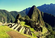 Machu Picchu Peru Inca ruins World wonder southamerica. Machu Picchu Peru Inca ruins World wonder travel southamerica Royalty Free Stock Photo