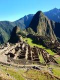 Machu Picchu Peru Inca ruins World wonder southamerica. Machu Picchu Peru Inca ruins World wonder travel southamerica stock photo