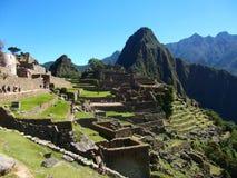Machu Picchu Peru Inca ruins World wonder southamerica. Machu Picchu Peru Inca ruins World wonder travel southamerica Royalty Free Stock Photos