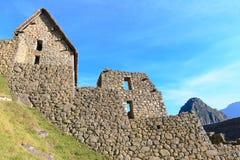 Machu Picchu, Peru. Inca storages of Machu Picchu in Peru stock photography