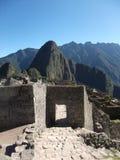 Machu Picchu Peru inka ruin Światowy cud Southamerica Obrazy Stock