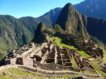 Machu Picchu Peru inka ruin Światowy cud Southamerica Zdjęcie Royalty Free