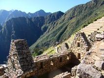 Machu Picchu Peru inka ruin Światowy cud Southamerica Fotografia Royalty Free