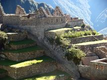Machu Picchu Peru inka ruin Światowy cud Southamerica Obraz Stock