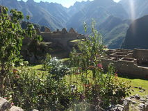 Machu Picchu Peru inka ruin Światowy cud Southamerica Zdjęcia Stock