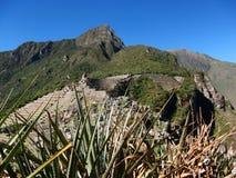 Machu Picchu Peru inka ruin Światowy cud Southamerica Obraz Royalty Free