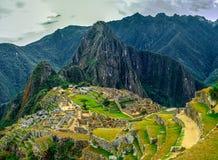 Machu Picchu, Peru. Machu Picchu - Picture of Ruins in Peru, South America stock photography