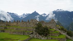 The Machu Picchu, Peru stock image