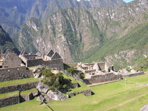 Machu Picchu from Peru Stock Image