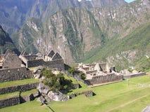 Machu Picchu from Peru Stock Image