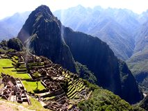 Machu Picchu from Peru Royalty Free Stock Photos