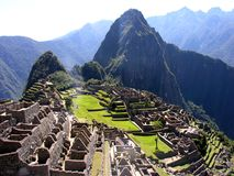 Machu Picchu from Peru Royalty Free Stock Photo