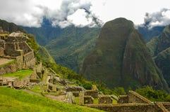 Machu Picchu. In Peru near the city of Cusco royalty free stock photos