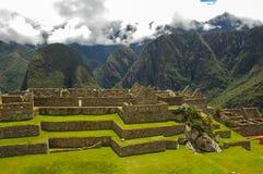 Machu Picchu. In Peru near the city of Cusco royalty free stock photography