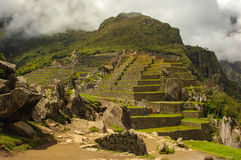 Machu Picchu. In Peru near the city of Cusco Stock Photos