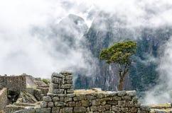 Machu Picchu. In Peru near the city of Cusco Stock Photo