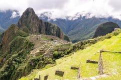 Machu Picchu. In Peru near the city of Cusco royalty free stock image