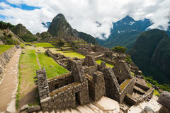 Machu Picchu, Peru. Machu Picchu, a Peruvian Historical Sanctuary and a UNESCO World Heritage Site of Peru Stock Images
