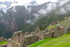 Machu Picchu in Peru Stock Photos
