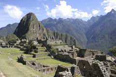 Machu Picchu, Peru, South America Stock Photos