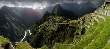 Machu Picchu. Peru, South America Stock Images