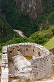 Machu Picchu from Peru, South America. South America, Peru, Machu Picchu the lost ancient incas town on the Inka Trail Royalty Free Stock Photo