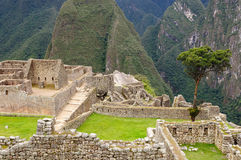 Machu Picchu from Peru, South America Stock Photos