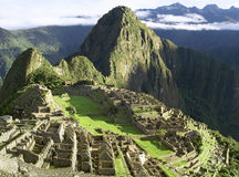 Machu Picchu. (Peru, Southa America), a UNESCO World Heritage Stock Photos