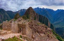 Machu Picchu in Peru. UNESCO World Heritage Site stock image