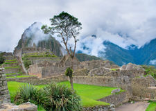 Machu Picchu in Peru. Royalty Free Stock Photography