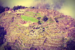 Machu Picchu in Peru. Royalty Free Stock Images