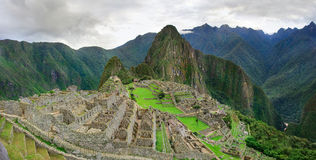 Machu Picchu in Peru. Stock Images