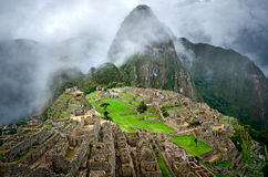 Machu Picchu in Peru. Stock Photos