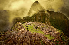 Machu Picchu in Peru. Royalty Free Stock Photo