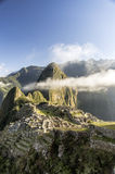 Machu Picchu, Peru. View of ancient incas town of Machu Picchu. Peru Stock Images